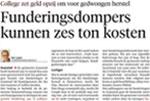 Noord Hollands Dagblad Funderingsherstel